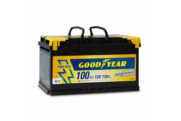"Akumulator Goodyear 100 AMP BATTERY ""POWER PLUS """