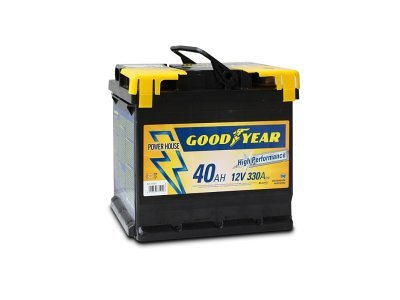"Akumulator Goodyear 40 AMP BATTERY ""POWER PLUS """