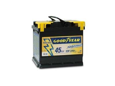 "Akumulator Goodyear 45 AMP KlipTERY ""POWER PLUS """