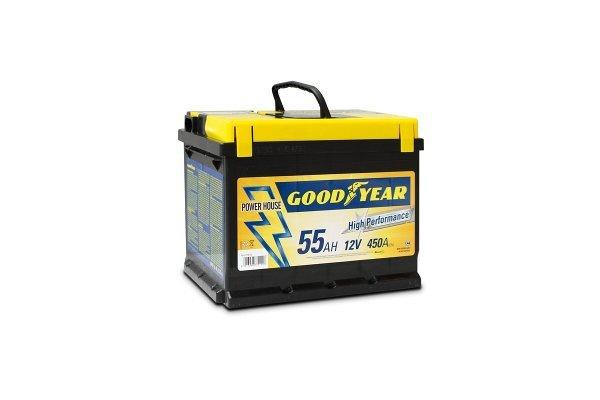 "Akumulator Goodyear 55 AMP BATTERY ""POWER PLUS """