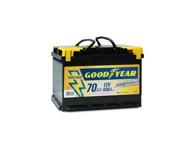 Akumulator Goodyear 70 AMP BATTERY  POWER PLUS