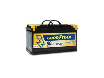 "Akumulator Goodyear 90 AMP BATTERY ""POWER PLUS """