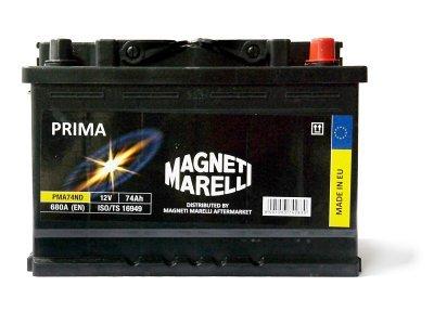 Akumulator Magneti Marelli 74Ah PMA74ND