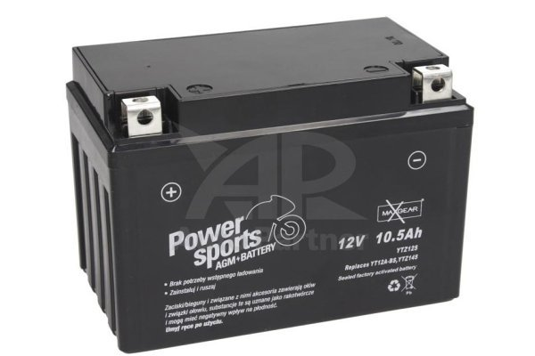 Akumulator MaxGear - 10,5Ah/160A L+ (AGM)