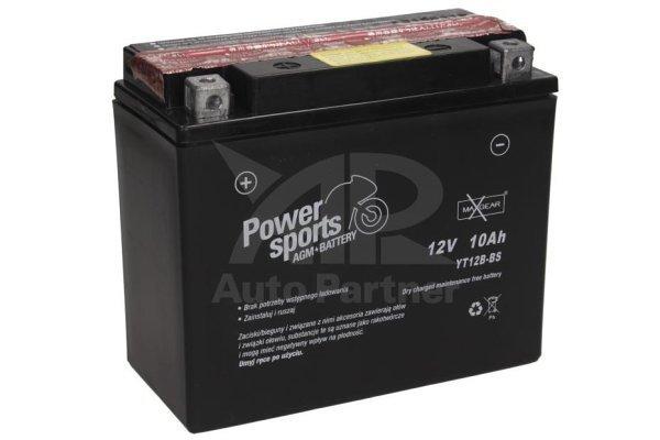 Akumulator MaxGear - 10Ah/125A L+ (AGM)