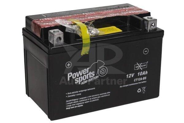 Akumulator MaxGear - 10Ah/160A L+ (AGM)