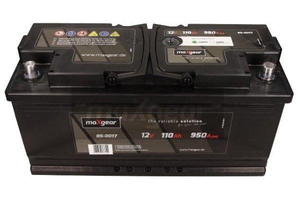 Akumulator MaxGear - 110Ah/950A L+