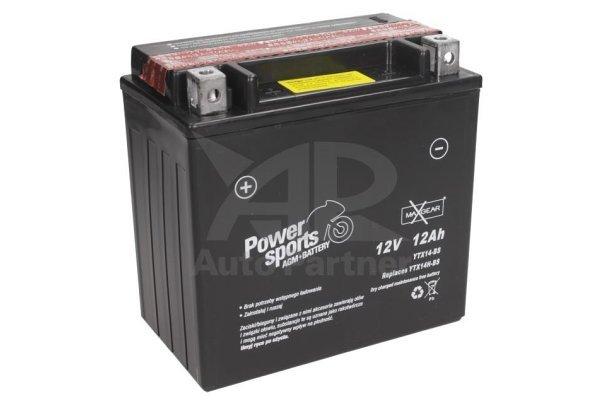 Akumulator MaxGear - 12Ah/160A L+ (AGM)
