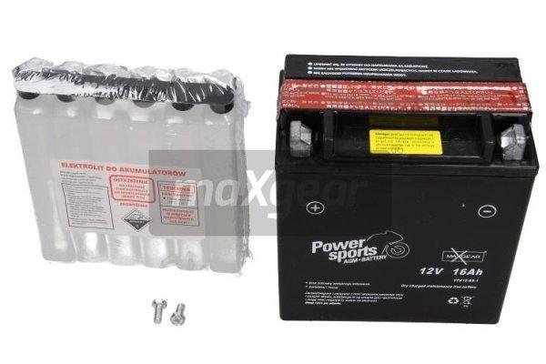 Akumulator MaxGear - 16Ah/195A L+