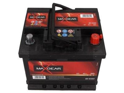 Akumulator MaxGear - 41Ah/360A L-