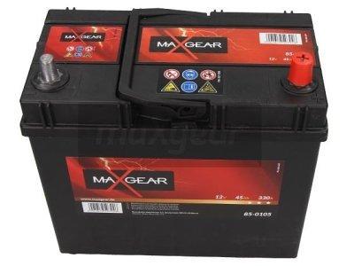 Akumulator MaxGear - 45Ah/330A D+