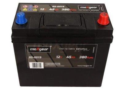 Akumulator MaxGear - 45Ah/380A D+