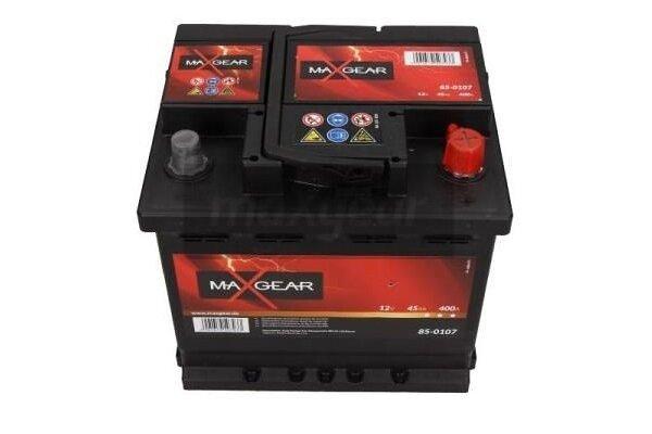 Akumulator MaxGear - 45Ah/400A D+