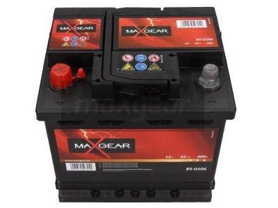 Akumulator MaxGear - 45Ah/400A L+