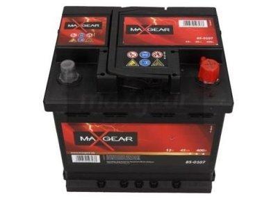 Akumulator MaxGear - 45Ah/400A L-