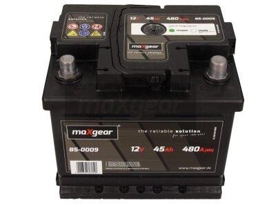 Akumulator MaxGear - 45Ah/480A D+