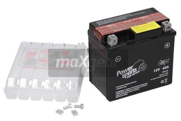 Akumulator MaxGear - 4Ah/62A D+