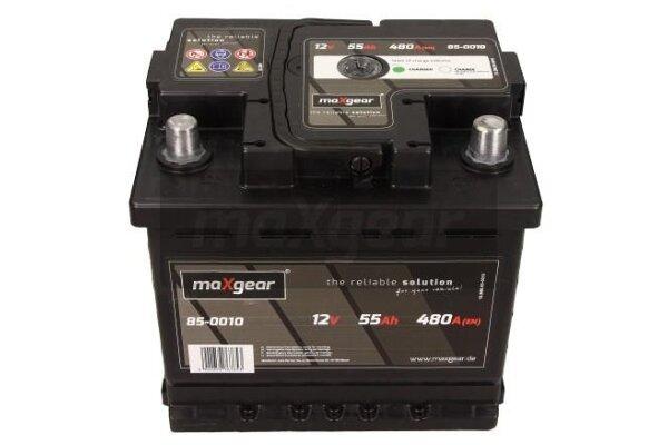 Akumulator MaxGear - 55Ah/480A D+