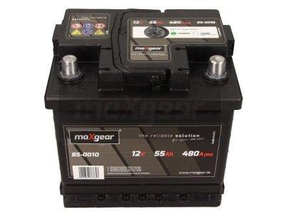 Akumulator MaxGear - 55Ah/480A L+