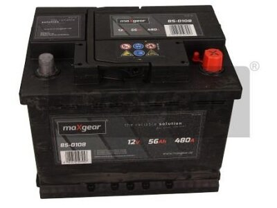 Akumulator MaxGear - 56Ah/480A D+