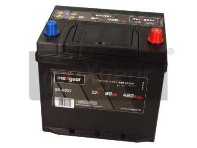 Akumulator MaxGear - 60Ah/480A D+