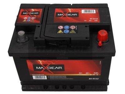 Akumulator MaxGear - 60Ah/540A D+