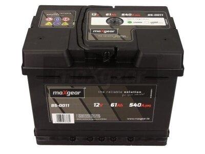 Akumulator MaxGear - 61Ah/540A D+