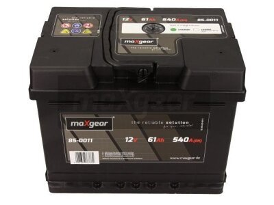 Akumulator MaxGear - 61Ah/540A L+