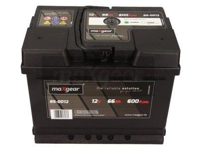 Akumulator MaxGear - 66Ah/600A D+