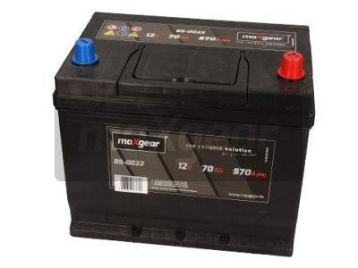 Akumulator MaxGear - 70Ah/570A D+