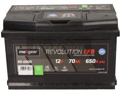 Akumulator MaxGear - 70Ah/650A D+ (start/stop)
