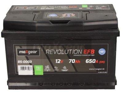 Akumulator MaxGear - 70Ah/650A L- (start/stop)