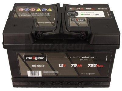 Akumulator MaxGear - 75Ah/750A D+