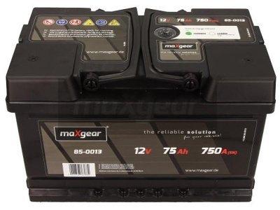 Akumulator MaxGear - 75Ah/750A L+