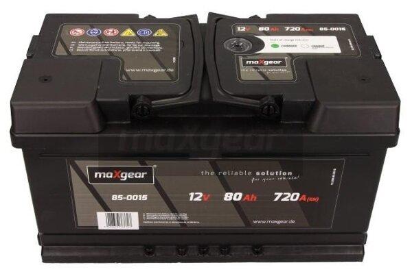 Akumulator MaxGear - 80Ah/720A L+