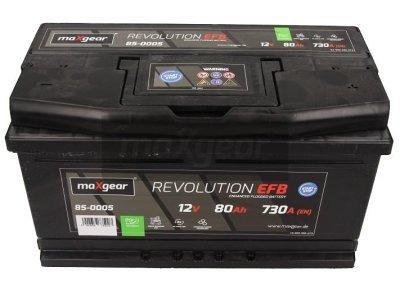 Akumulator MaxGear - 80Ah/730A D+