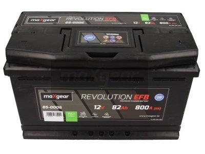 Akumulator MaxGear - 82Ah/800A D+