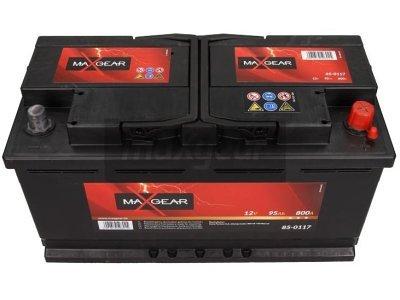Akumulator MaxGear - 95Ah/800A D+