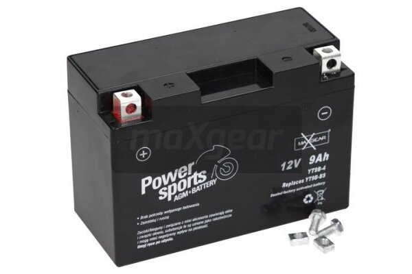 Akumulator MaxGear - 9Ah/140A L+ (AGM)