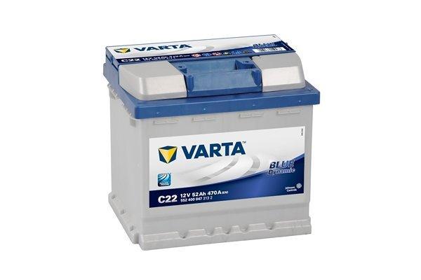 Akumulator Varta 52Ah D+