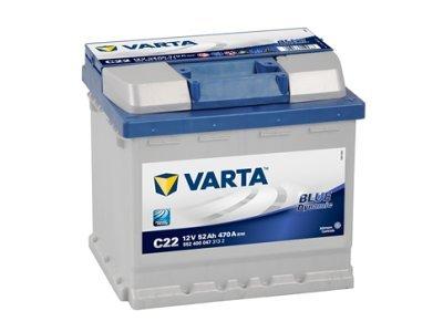 Akumulator Varta 52Ah D+, 5524000473132