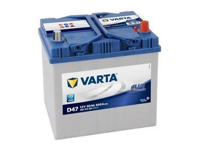 Akumulator Varta 60Ah D+ Asia
