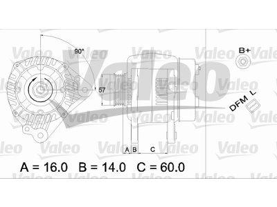 Alternator Audi A4 00-04