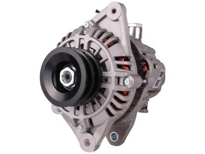 Alternator Mitsubishi Pajero 91-00,  90 A, 77 mm