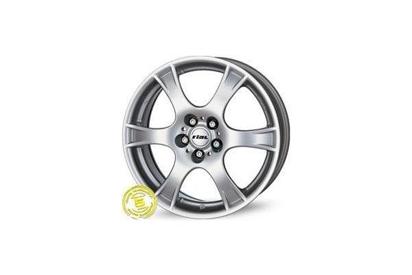 Aluminijasto platišče 4x100 ET35 5,5x14 RIAL CAMPO srebrna 63,3