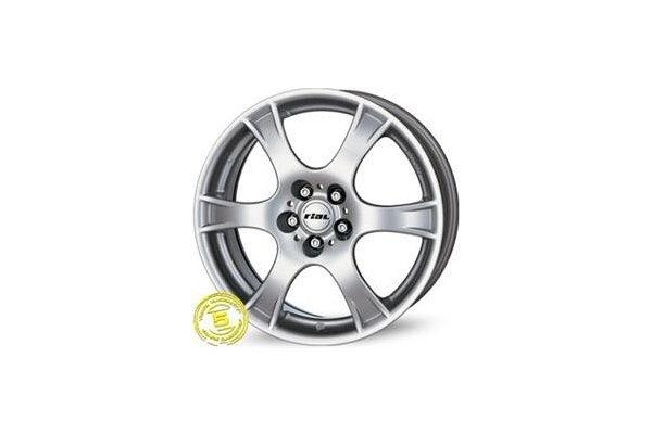 Aluminijasto platišče 4x100 ET38 5,5x13 RIAL CAMPO srebrna 63,3