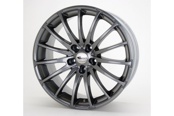 Aluminijasto platišče 4x100 ET38 7,0x16 RC18 titan metalic BROCK 63,4