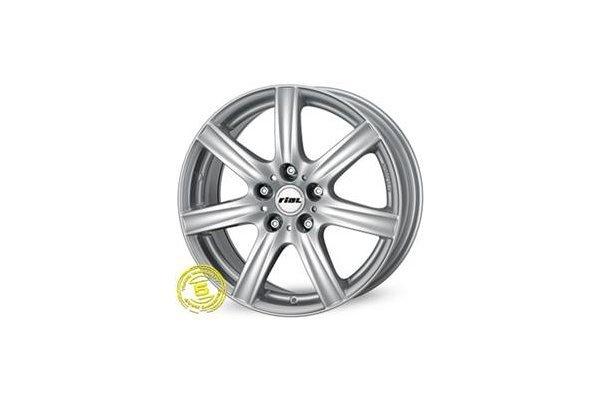 Aluminijasto platišče 4x100 ET38 7,0x16 RIAL DAVOS srebrna 63,3
