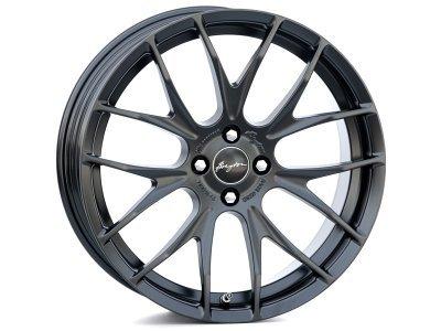 Aluminijasto platišče 4x100 ET40 7,0x17 RACE GTS-R matt black BREYTON