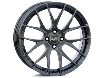Aluminijasto platišče 4x100 ET40 7,0x18 RACE GTS-R matt black BREYTON